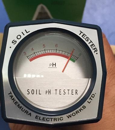 Máy đo pH đất Takemura