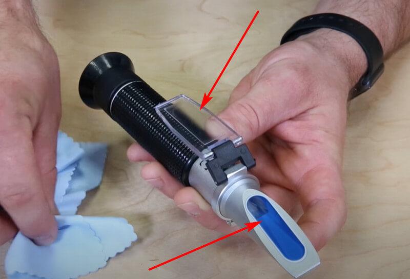Cách sử dụng bút đo độ mặn ATAGO