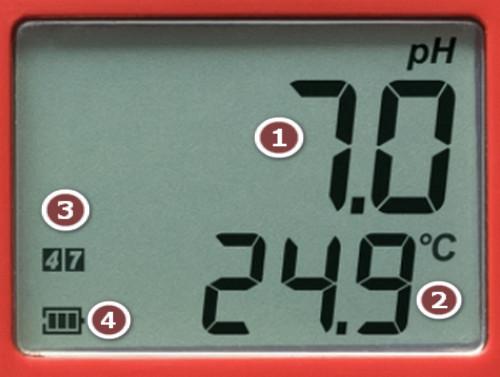 Màn hình bút đo pH điện tử Hanna